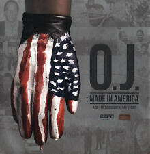 O.J. Made in America Blu-ray/DVD 5-Disc Set 2016 Simpson ESPN Football 30 for 30