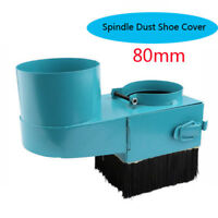 80mm Spindle Dust Shoe Cover Cleaner For Cnc Router Engraving Milling Machine US