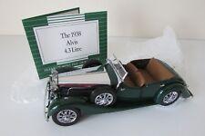 Franklin Mint 1938 Alvis 4.3 Litre Car ~ Scale 1:24 ~ Die Cast Model ~ New Other