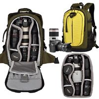 Waterproof Professional Camera Backpack Camcorder DSLR SLR Large Shoulders Bags