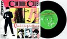 """CULTURE CLUB - CHURCH OF THE POISON MIND - 7"""" 45 VINYL RECORD w PICT SLV - 1983"""