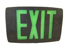 Lithonia Lighting Lqm S W 3 G 120277 El N Grn Led Emergency Exit Sign