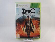 DMC DEVIL MAY CRY MICROSOFT XBOX 360 PAL ITA ITALIANO ORIGINALE NUOVO SIGILLATO