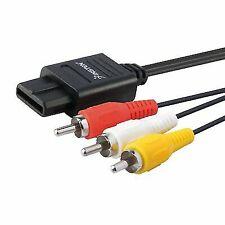 AV Cable for SNES Super Nintendo GameCube N64 Composite RCA TV Lead ZedLabz