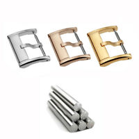 Stainless Steel Watch Buckle Pin Buckle Wristwatch Buckle Watch Clasp 18-20mm