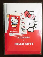 Hello Kitty Collaboration Note Clear File Seal Pocket Bag Made in Japan