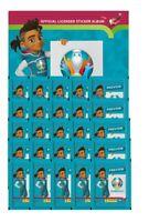 Panini - EURO 2020 Sticker Preview - Sammelsticker - Leeralbum + 25 Sticker