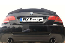 echte CARBON V type HIGH KICK Spoiler Heckspoiler für BMW E92 3er Coupe 2006-13