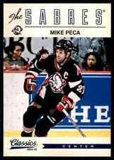 2012-13 Panini Classics Signatures Mike Peca #177