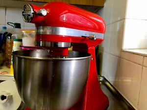 KitchenAid Stand Mixer Mini Empire Red Good Condition