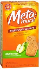 Metamucil Fiber Wafers Apple Crisp 24 Each