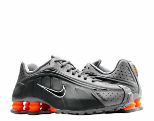 Nike Shox R4 Anthracite/Total Orange Men's Running Shoes 104265-054