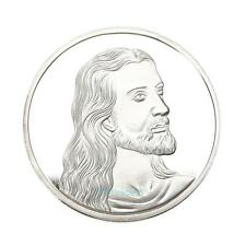 Silver Plated Jesus Last Supper Souvenir Coin Collection Collectible Christmas