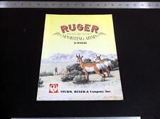 Vintage 1988 Strum Ruger Sporting Firearms - Gun Catalog *G-Cond*