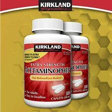 Kirkland Signature Extra Strength Acetaminophen 500 mg., 1,000 Caplets