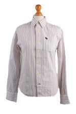 Abercrombie&Fitch Vintage Long Sleeve Shirt White/Stripes Size L- SH2063