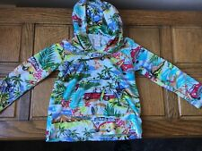 Boys Monsoon Hoodie 2-3 Holiday Beach Tracksuit Top Designer Christmas VGC Towel