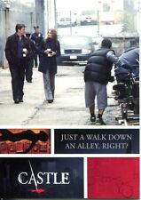 Castle Seasons 3 & 4 Behind The Scenes Chase Card  B6