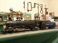 Lionel Postwar 2046 Hudson 4-6-4 ,1951&53 & 6026W tender serviced & ready !