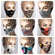 FACE MASK ADULT BREATHABLE AND WASHABLE MADE IN USA  FABRIC MASK NEW ONE SIZE