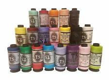 20 Assorted Quality TS Cotton Sewing Thread Spools Machine Stitching Threads