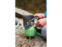 Optimus Windschutz für EN 417 kompatible Gaskartuschen Outdoor Camping neu