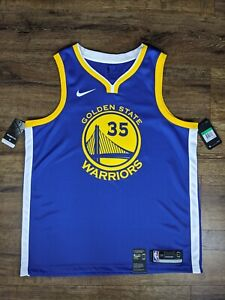 Nike Golden State Warriors Kevin Durant Jersey Brand New Size X-Large