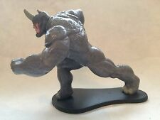 Disney Store Authentic RHINO FIGURINE Cake TOPPER Toy MARVEL SPIDER-MAN NEW