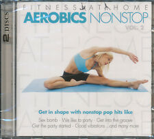 Fitness At Home Aerobics Nonstop Vol.2 Doppel CD NEU Sex Bomb We like to party