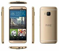 "5"" HTC One M9 32GB 20MP 4G LTE Androide Libre TELEFONO MOVIL Oro Gold"