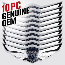 2008-2014 Hyundai Genesis Sedan Large Hood Wing Emblem LARGE SIZE / 10 Piece OEM