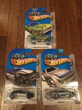 Lot Of 3 Treasure Hunt Hot Wheels, '10 Camaro SS, Mazda RX-7, '64 Lincoln
