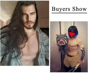 Silicone Male Chest Realistic Fake Muscle Half Body Suit for Cosplay Fake Chest