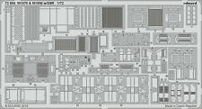 Eduard 726841/72  M1070 & M1000 w/D9R for Takom