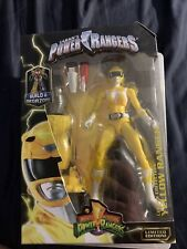 Mighty Morphin Power Rangers Legacy Collection - Yellow Ranger Metallic