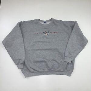 Vintage UNLV Rebels Sweatshirt Size 2XL Gray Champion 90s
