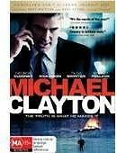 Michael Clayton LIKE NEW DVD George Clooney & Tom Wilkinson & Sydney Pollack