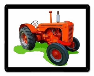 "CASE MODEL LA TRACTOR 15"" HEAVY DUTY USA MADE METAL FARM DECOR ADVERTISING SIGN"