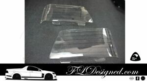 1978-1981 Holden VA, VB, VC Commodore CLEAR Headlight Protectors, Covers, guards