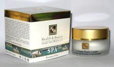 H&B 50 ml 1.76 oz Collagen Night Facial Face Cream Dead Sea Minerals