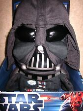 Star Wars Series 12 Inch Tall Talking Plush - DARTH VADER with Light and Sounds