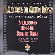 Film Scores of Miklos Rozsa CD Spellbound, Ben-Hur, King Of Kings