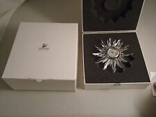 SWAROVSKI, SOLARIS CLOCK, #221626, RETIRED, NEW, MINT IN BOX