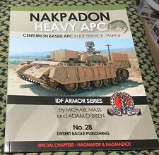 NAKPADON HEAVY APC CENTURION BASED IN IDF SERVICE  DESERT EAGLE #28 PART 4