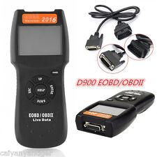 D900 Car Scanner OBD2 EOBD Fault Code Reader Engine Scanner Diagnostic Scan Tool