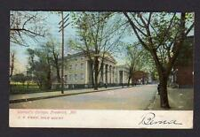 1907 FREDERICK MARYLAND*MD*WOMAN'S COLLEGE*HOOD*JF KREH SOLE AGENT*BURKITTSVILLE