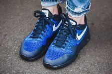Para mujer Nike Air Max 1 Ultra Flyknit Negro azul tamaño de Reino Unido 4 843387-401