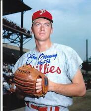 JIM BUNNING Autographed Signed 8 x 10 Photo Philadelphia Phillies COA