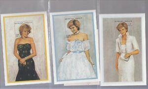PRINCESS DIANA Complete set of 6 souvenir sheets from TOGO Scott 1799-1804 MNH