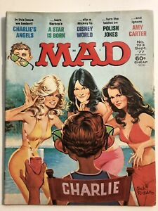 MAD Magazine #193 Sept 1977 Charlie's Angels, A Star Is Born GD/VG 3.0